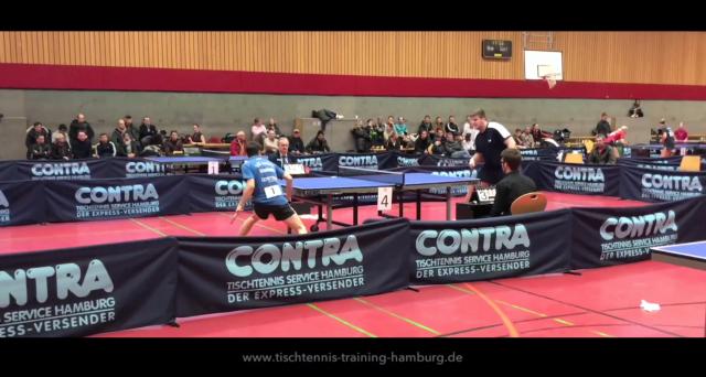 Video – Leon Abich vs. Christian Witter – Finale Hamburger Meisterschaften 2018 Tischtennis