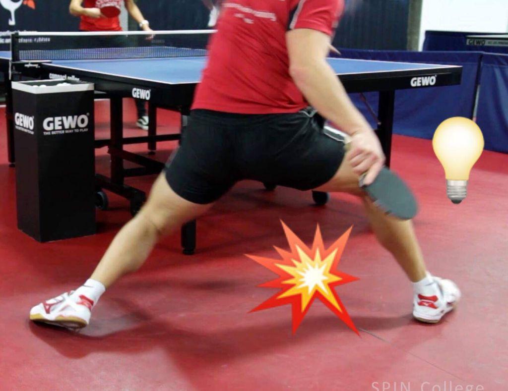 Vorhand Topspin Technik Tischtennis Tipps