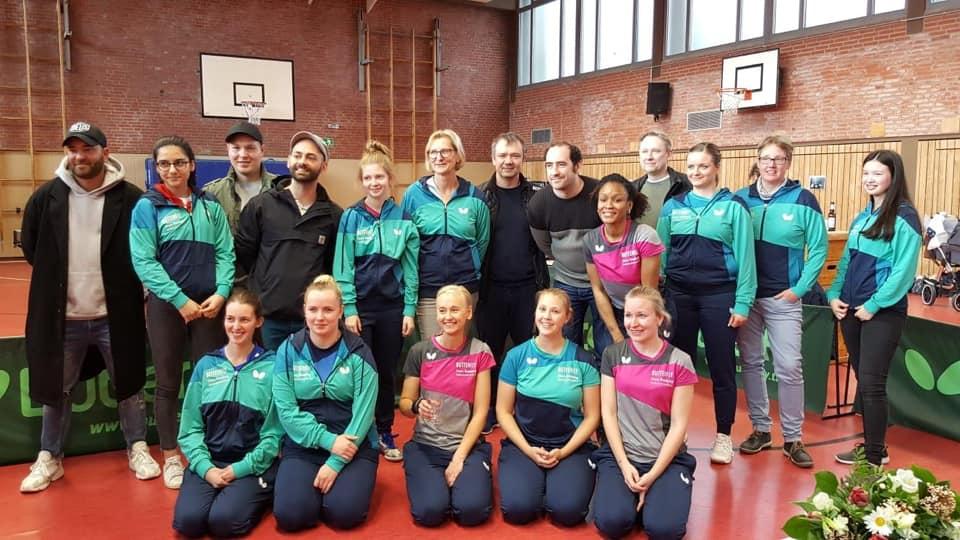 Der Damenbereich im Hamburger Tischtennis – ein roher Diamant?