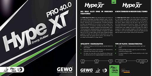 Gewo Hype XT Pro 40.0 Cover